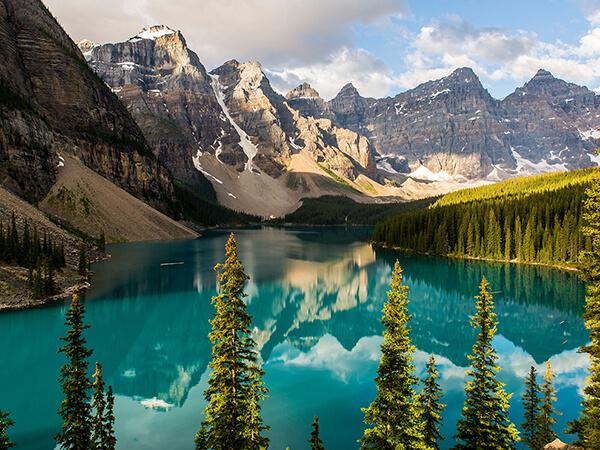 Lake Moraine, Banff